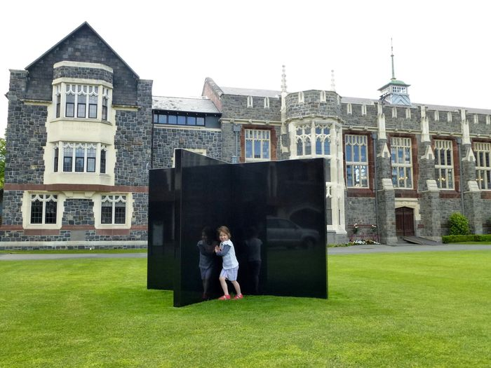 The Kiss, Christ's College NZ SCAPE Public Art 2016/7